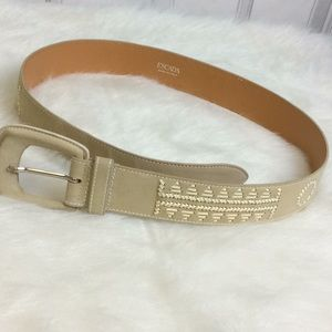 ESCADA leather belt 44 (m-l)